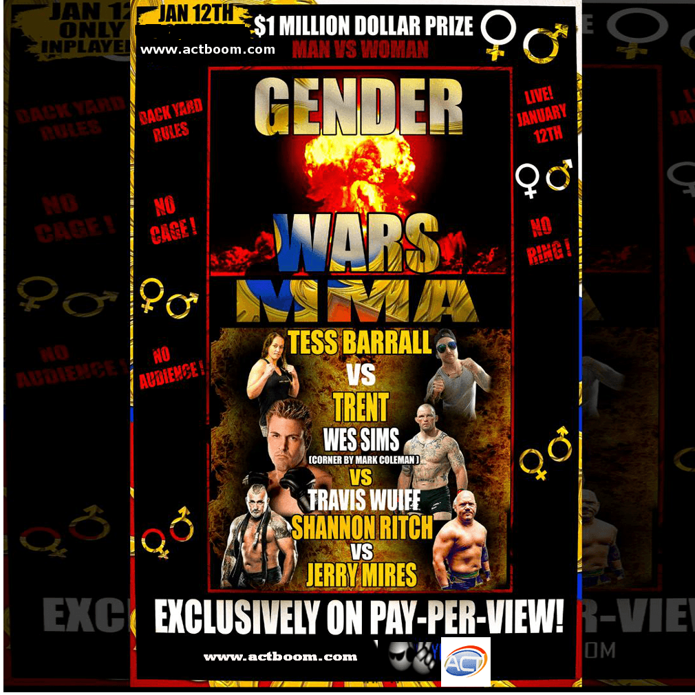 Gender Wars Man vs. Woman PPV